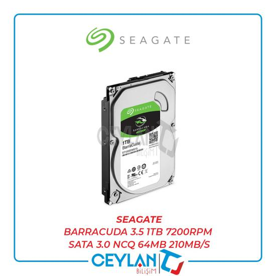 SEAGATE BARRACUDA 3.5 1TB 7200RPM