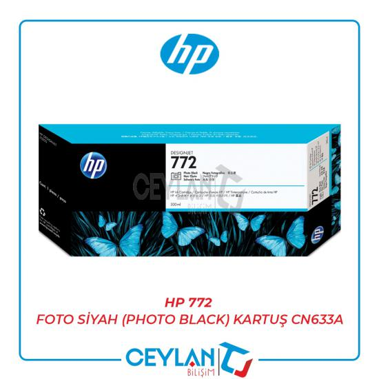 HP 772 Foto Siyah (Photo Black) Kartuş CN633A